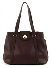 ESPRIT Abby Fancy Shopper Tasche Schultertasche Damen Rot Bordeaux Red Neu