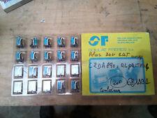 Lot de 20 mini relais 24v 2RT