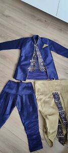 Indian Boys Outfit - Sherwani With 2 Type Trousers Size 6