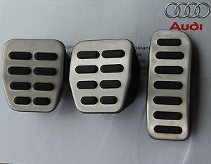 Audi A3 8L S3 Pedalset Pedals Pedal cover pads caps TT 8N manual cars