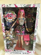 Mattel Barbie Black Label Tokidoki 10th Anniversary Doll New Fast Ship