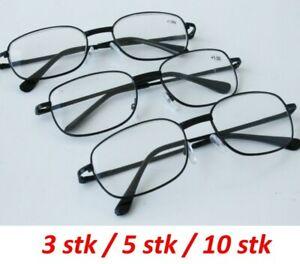 Klassische Lesebrillen Lesehilfe Brille Lesebrille Sehstärke Brillen Sehhilfe