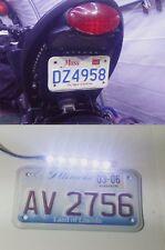 1X White LED SMD Motorcycle Car License Plate light Strip Minimal Flush Race