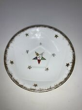Vintage OES Order of the Eastern Star Masonic Mason Tea cup saucer