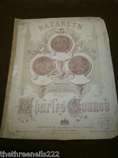 ORIGINAL SHEET MUSIC - NAZARETH