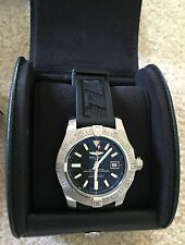 Breitling Avenger II SEAWOLF BLACK DIAL A17331 44MM Black dial w/ Box Both bands