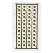 A-Line 50134 - 53' Trailer & Container Tie Down Button Covers  (Pkg 48) HO Scale