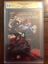 CGC SS 9.8 Transformers Generation 1 #1 variant signed by Frank Welker- Megatron