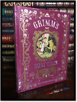 Grimm's Fairy Tales Sealed Illustrated Children's Leather Bound Gift Hardback
