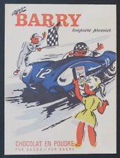 Protège cahier BARRY Chocolat poudre code de la route  Wachbuch copybook
