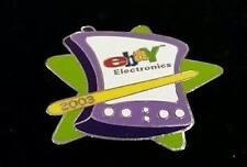 eBay Live 2003 Orlando Florida ELECTRONICS Green Star Enamel Lapel Pin Back NEW