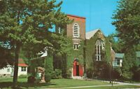 Postcard Episcopal Church of the Wrens Algonac Michigan