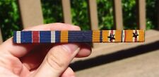 WW2 3 Place Ribbon Bar Medal Military DFC Air Medal Asiatic British Made
