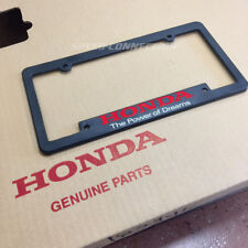 POWER OF DREAMS LICENSE PLATE TAG FRAME FOR HONDA CIVIC CRX DELSOL PRELUDE