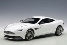 Aston Martin Vanquish in Glossy White in 1 18 Scale by Autoart