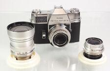 Kodak Retina III mit 3 Objektiven