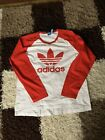 Adiddas Long Sleeve Top   Xl   Red White
