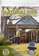 NEW Natural Home Builder Vols 1-5 Earth Garden mud brick solar stone straw