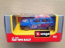 1:43 Bburago Fiat Tipo rally + Lancia Delta S4 Martini - mint box