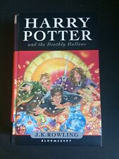 Harry Potter And The Deathly Hallows Hardback First Edition