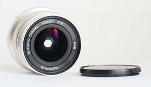 OLYMPUS 12mm 2.0 PRIME FOR MICRO FOUR THIRDS - EXCELLENT!