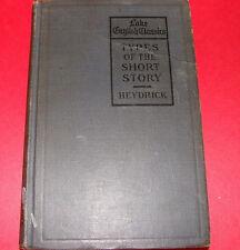 Lake English Classics Types of the Short Story 1913 ed. Benjamin Heydrick, Hc