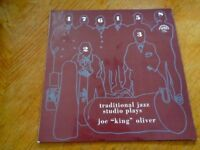 "Traditional Jazz Studio – Plays Joe ""King"" Oliver lp"