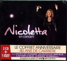 - CD + DVD  - NICOLETTA - En Concert