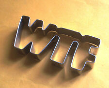 WTF words funny special baking fandont pastry cookie cutter biscuit cutter mold