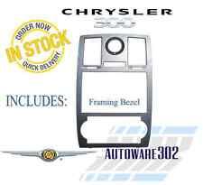 Chrysler 300 Factory Navigation Aftermarket Double Din Radio Dash Kit Assembly