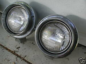 CHRYSLER IMPERIAL RAT ROD CUSTOM HEADLIGHTS 1961 62 63