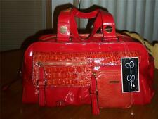 JESSICA SIMPSON SUNSET SUPERFINE SATCHEL-NO LONGER MADE STYLE & RARE FIND-NWT