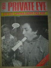 PRIVATE EYE MAGAZINE No 840 FEBRUARY 25 1994 GAY SEX - EDWINA SHOWS THE WAY