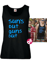 Suns Out Guns Out Ladies Fit New Vest Tank Tshirt 22 Jump Street Channing Tatum