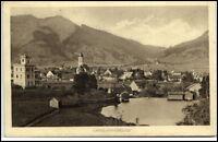 Oberammergau Postkarte ~1920/30 Teilansicht mit Kirche Berge Alpen Blick alte AK