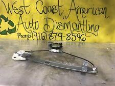 04-08 Acura TL Left Driver Rear Door Window Regulator W/Motor OEM