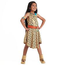 Girl POCAHONTAS Costume Dress Child Small 5 6 DISNEY STORE Indian Princess