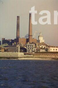 35mm slide Portsmouth power station1960s r143