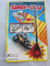 Crazy Pop Cycle Motorbike Rip Cord Racer Toy Vintage Motorcycle Stocking Filler