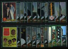 2011 Topps Heritage lot of 24 different Chrome Green Refractors