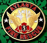 City of Atlanta Fire & Rescue Department Challenge Coin