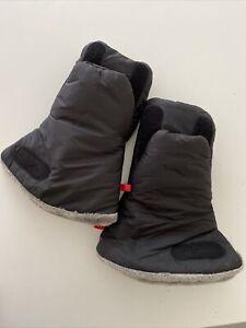 Waterproof & Fur Lined Pram / Stroller Gloves - Black