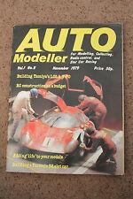 AUTO MODELLISTA modello MOTOR RACING RIVISTA CATALOGO VOL 1 NO 8 1979