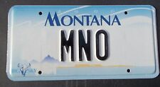 "MONT VANITY LICENSE PLATE "" MNO "" MARK MATT MIKE MARY OLSON O'NEIL OWENS OLIVER"