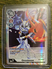 Omnimon SR BT5-086 Digimon Card Game BT05 NM