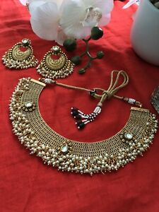 indian Jewelry bollywood high quality jewelry set