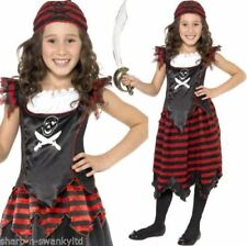 Disfraces de niña piratas color principal negro