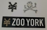 Zoo York Lot of 3 Stickers / Decals Skateboard Graffiti Underground Culture