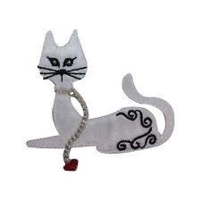 ID 2877 Cat Kitty Kitten Iron On Applique Patch