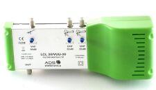 CENTRALINO AMPLIFICATORE ANTENNA TV VHF 30 dB UHF UHF 32 dBB